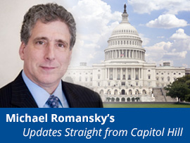 Michael Romansky's Updates Straight from Capitol Hill
