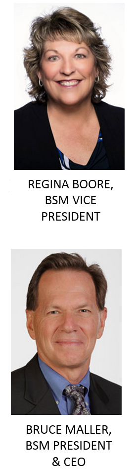 Regina Boore & Bruce Maller of BSM