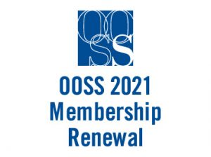 OOSS 2021 Membership Renewal