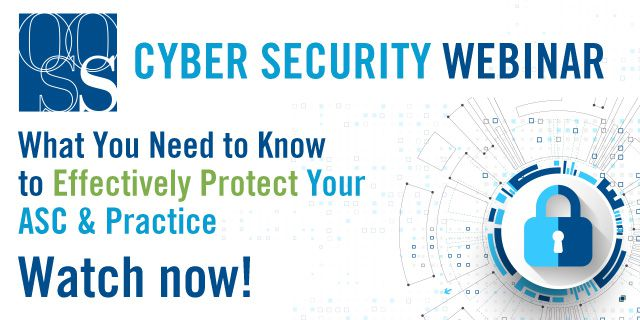 OOSS Cyber Security Webinar