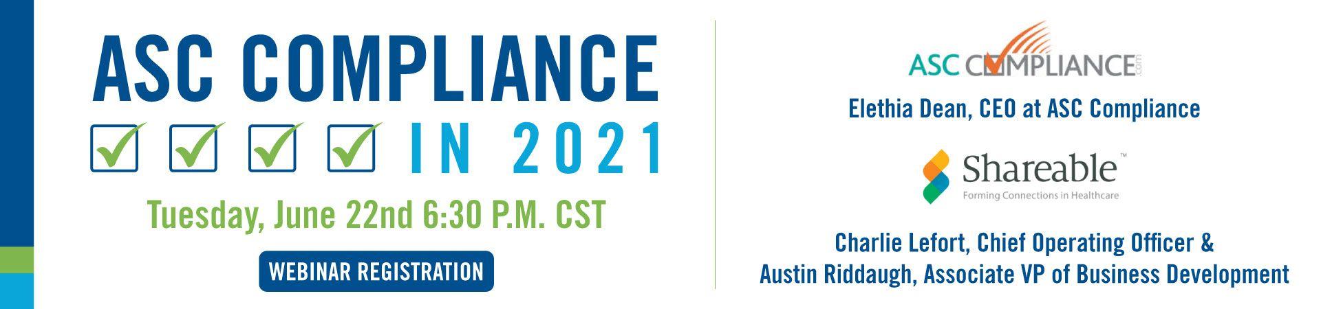 ASC Compliance in 2021 Webinar